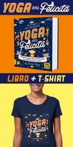 Yoga della Felicità Libro + T-shirt  XL - Libro + Maglietta XL