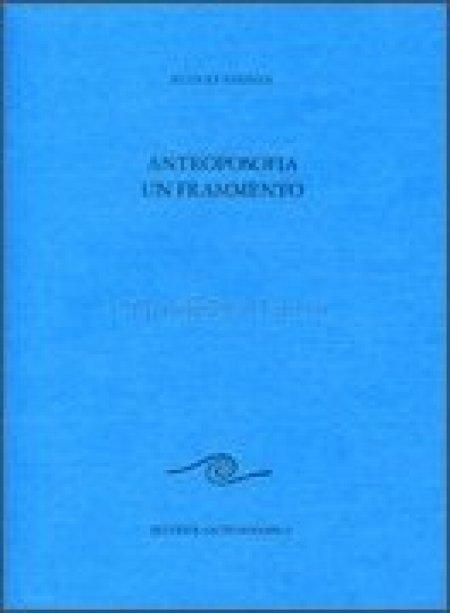 Antroposofia un Frammento - Libro