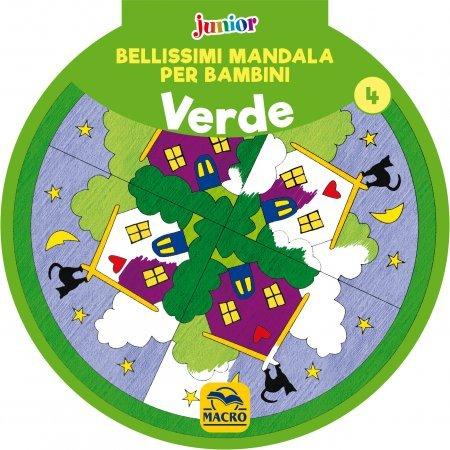Bellissimi Mandala per Bambini Vol.4 - Verde - Libro