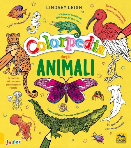 Colorpedia Degli Animali - Libro