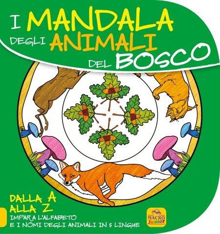 Mandala degli Animali del Bosco - Libro