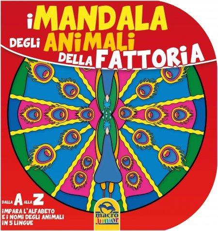 Mandala degli Animali della Fattoria - Libro