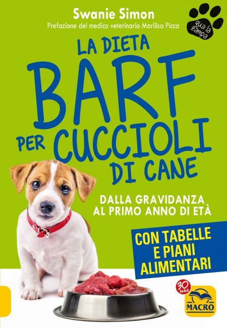 La Dieta Barf per Cuccioli e Cani in Gravidanza - Libro
