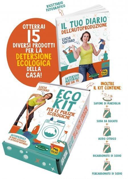 Eco Kit per le Pulizie Ecologiche - Cartolibro