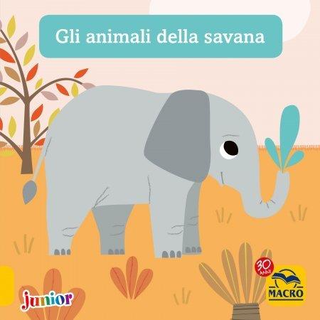 Gli Animali della Savana - Libro