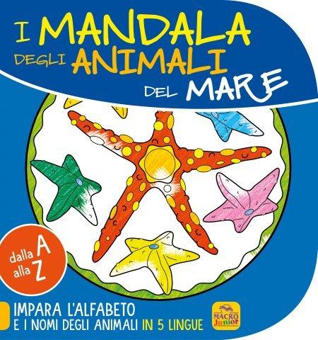 Mandala degli animali del Mare - 4-6 anni - Libro