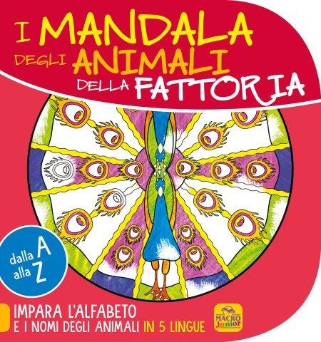 Mandala degli animali della Fattoria - 10 -12 anni - Libro