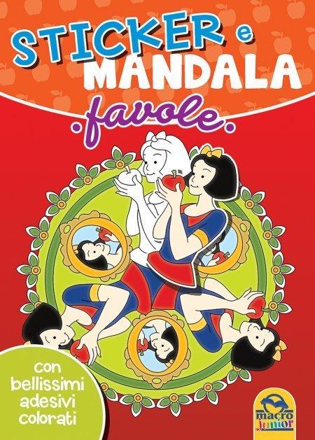 Sticker e Mandala - Favole - Libro