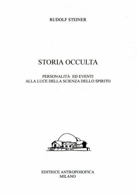 Storia Occulta - Libro