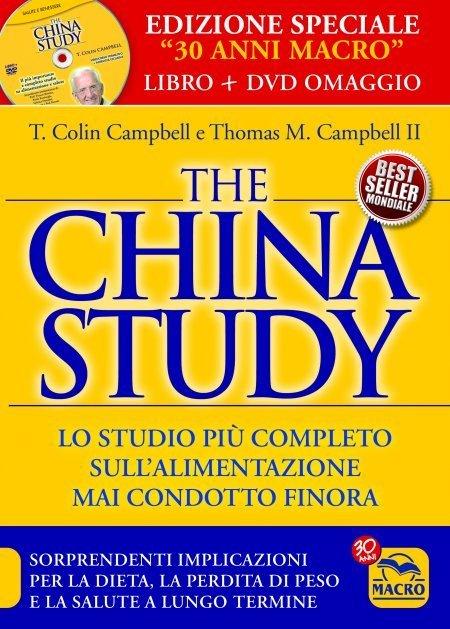 The China Study EDIZIONE SPECIALE 30 Anni + DVD Omaggio - Libro + DVD
