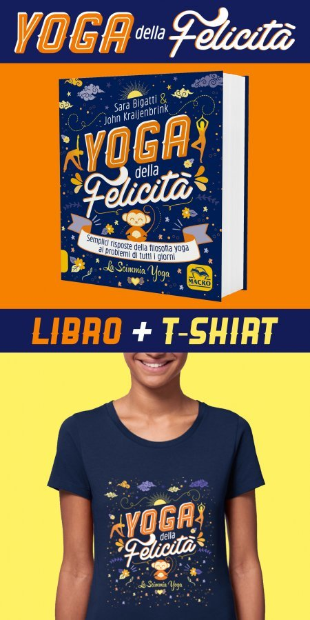 Yoga della Felicità Libro + T-shirt XS - Libro + Maglietta XS