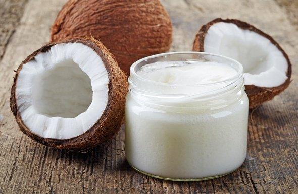 Olio di cocco - Mousse idratante corpo