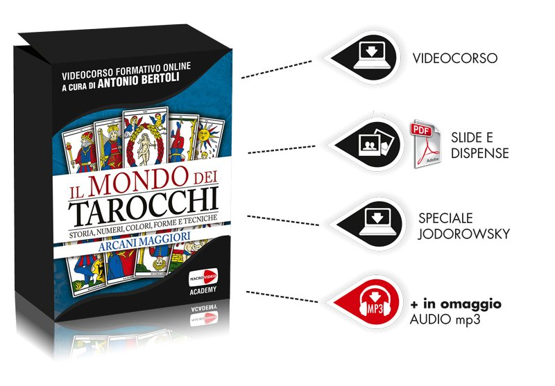 Contenuti corso Antonio Bertoli Tarocchi