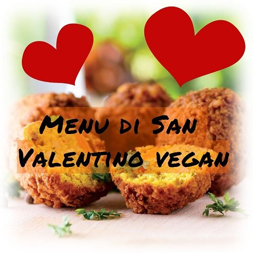 menù di san valentino vegan