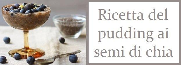 Ricetta del pudding ai semi di chia