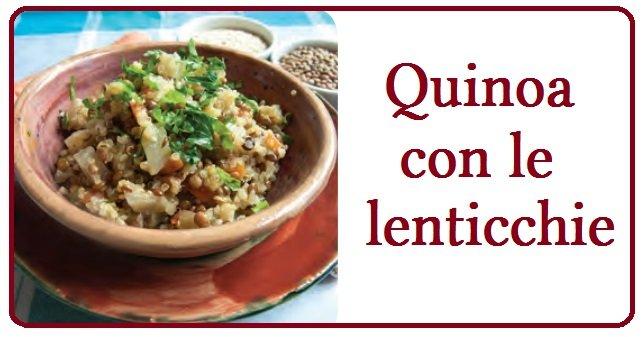quinoa con lenticchie